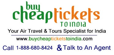 Buy Cheap Tickets to India