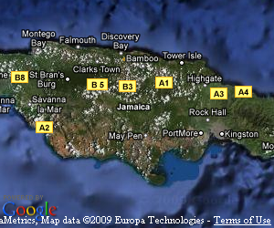 Travelhowz jamaica travel agent plan your vacation with google map gumiabroncs Gallery